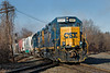 Best Wishes for a Happy New Year from everyone here at nerrp.com!<br /> Starting the year off with train B740 hitting the diamond at MP84 in Palmer MA on a clear, cold Winter morning, but still no snow...<br /> 1/3/2019
