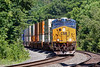 While 436 tied up the siding, Q008 came through MP60 on the main.<br /> 6/26/2020