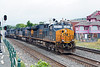 With 5 units on the point, Q436 takes the siding at MP83 in Palmer MA.<br /> 6/24/2020
