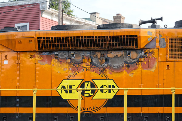 NECR SD-40 3477 has an interesting weathering project for a modeler.<br /> 9/14/2020
