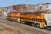 NECR 3405 and 3025 work the CSX yard lead at MP83 in Palmer MA.<br /> 11/9/2020