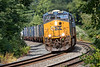 __SX train Q436 hits the S-curves at MP60 in Spencer MA.<br /> 9/22/2020
