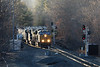 Late yesterday, just before sunset, we caught another ethanol train at MP57 in Charlton MA. !!!Thanks Anthony!!!<br /> 2/3/2020