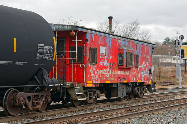Wow, B740 had a CSOR caboose tacked on to the end of it's train.<br /> 11/11/2020