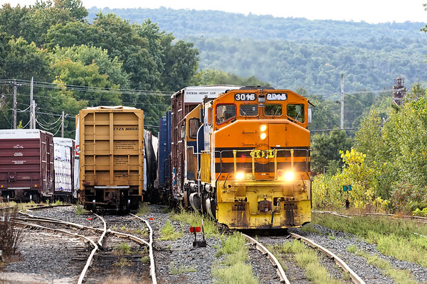 The NECR yard in Palmer MA is plugged this morning.<br /> 9/14/2020