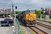Running on the main, Q436 splits the signals at MP83 in Palmer MA.<br /> 6/3/2020