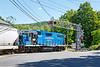 MCER crossing Main St in Gilbertville MA.<br /> 6/8/2020