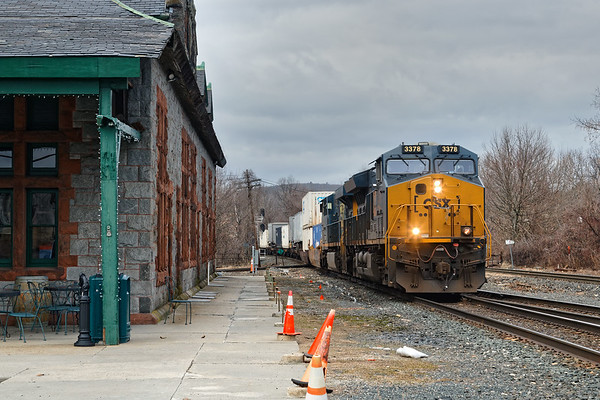 The only movement I saw on CSX was 022 with a very short train.<br /> 2/3/2020