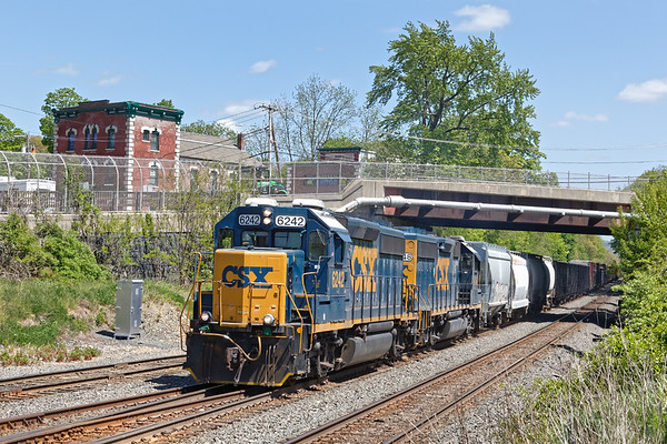 In Palmer MA B740 heads back to Springfield for the long weekend.<br /> 5/22/2020