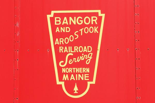 B&A caboose in Palmer MA.<br /> 2/17/2020
