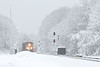 The Winter that never was just won't quit!<br /> This storm, in the middle of April no less, dumped more snow on us than we got in all of January, February and March. Think Spring!!!<br /> Q012 through MP57 in Charlton MA.<br /> 4/18/2020