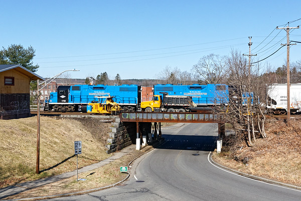 MCER on the Main St. overpass in Ware MA.<br /> 3/26/2020