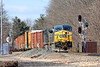 MP57 in Charlton MA has become quite a hotspot of late. Last Saturday, with a loaded coal train in the hole at 57, Q436 led the parade.<br /> 3/14/2020
