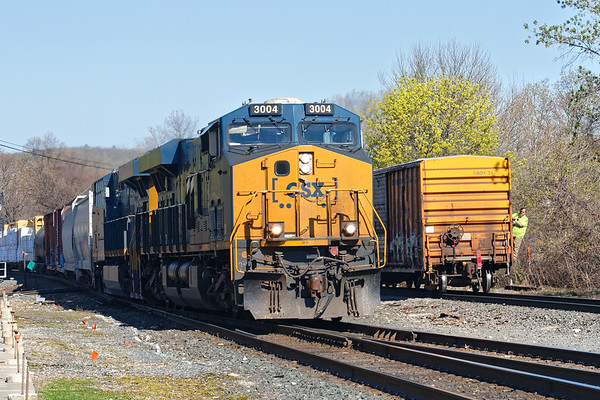 Yesterday started out with Q436 slamming across the diamond at MP83 at the same time that Pat was riding the NECR shove into the CSX yard.<br /> 5/7/2020