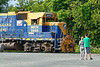 Watching trains in Palmer MA...<br /> 7/23/2020