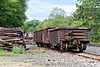 Rail train sneaking into the picture at MP64 in East Brookfield MA.<br /> 6/1/2020