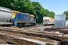NECR 3850 works the CSX yard at MP83 in Palmer MA.<br /> 6/17/2020