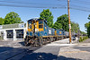G&U 1191 and 1158 cross Waterville St. as they switch their transload yard in North Grafton MA.<br /> 5/27/2020