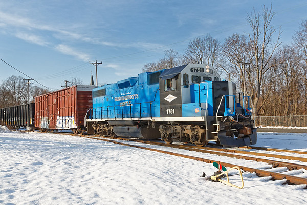 MCER in the Ware MA yard.<br /> 12/11/2020