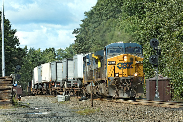 CSX Q022 through MP57, Charlton, MA. 9/10/2012 - 598C0948dK