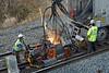 CSX track gang laying ribbon rail at MP57, Charlton, MA on the CSX Boston Line - 9/17/2012 - 598C1676dK