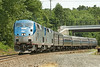 Amtrak 449 rolls off the Charlton Hill at MP57, Charlton, MA. 7/23/2012 - 598C9436dxK