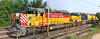 Another NECR rainbow consist in the Palmer, MA yard - CSOR 3771, LLPX 2221 and NECR 2716. 6/22/2012 - 598C9492a Panorama_aK