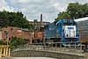 Switching between the admin. building and the engine house at the P&W, Worcester, MA. 7/2/2012 - 598C9962dK