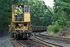 CSX rail train laying ribbon rail just west of MP60, Spencer, MA. 9/5/2012 - 598C0790dK