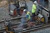 CSX track gang laying ribbon rail at MP57, Charlton, MA on the CSX Boston Line - 9/17/2012 - 598C1700dK