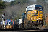 CSX train Q022 at MP60, Spencer, MA. 12/14/2012 - 598C5087dK