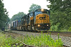 Eastbound CSX stack train at MP60, East Brookfield, MA. 7/14/2012 - 598C9157dK