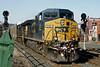 CSX train Q264 eastbound at MP83, Palmer, MA. 1/16/12 - IMG_3196dK