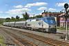 Amtrak's Vermonter coming off the NECR into the CSX yard at MP83, Palmer, MA. 5/31/2012 - 598C8699dK