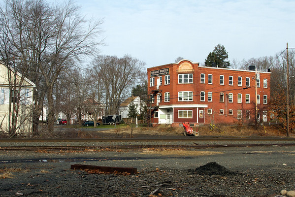 A brief visual tribute to a bit of New England railroad history lost forever, the East Brookfield, MA depot at MP64 on the CSX Boston Line. December 9, 2011.
