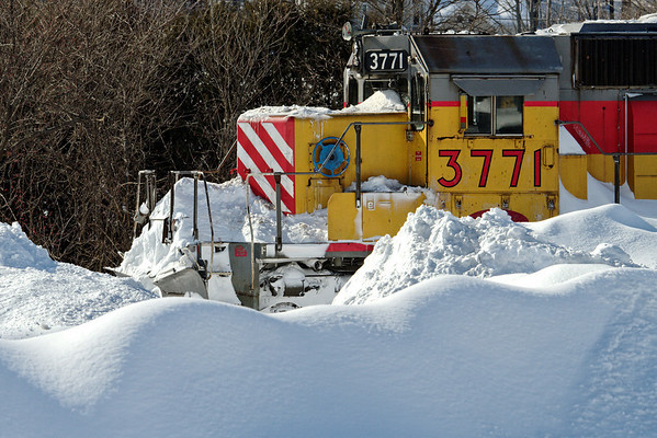 Winter railroading, MP83, Palmer, MA - February 3, 2011<br /> At least the sun was out...11-02-03 no 1098