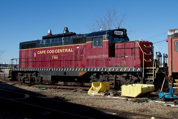 Cape Cod Central RR, Hyannis, MA, April 2,2011