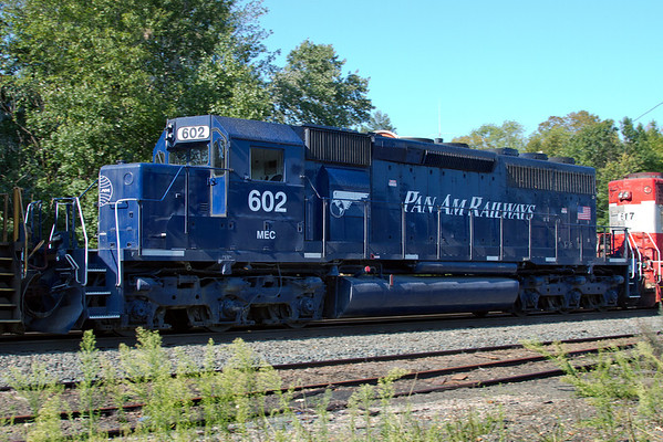 Pan Am Railways - an unusual sight on CSX. 09/02/2011 - 0818LR3dK