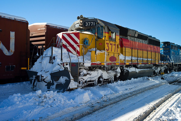 Winter railroading, MP83, Palmer, MA - February 3, 2011<br /> At least the sun was out...11-02-03 no 0482