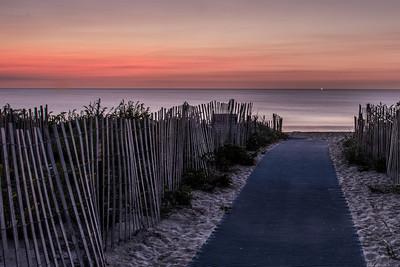 Salisbury Beach path