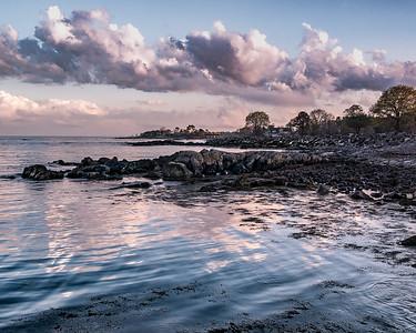 Great Island Common sunset