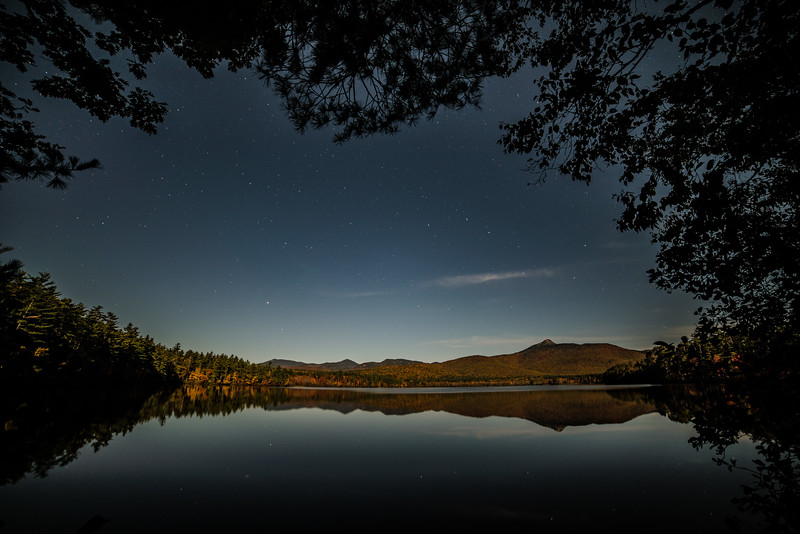 Moonlight on Chocorua Lake