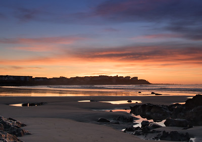 Hampton Beach Winter Sunrise