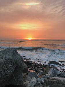 Rye Beach Rocks