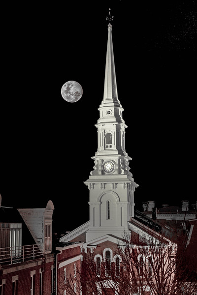North Church Moon
