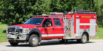 Rescue 1.  2012 Ford F-550 / Freedom Fire.  750 / 300