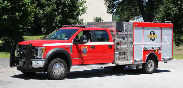 Rescue 2.  2017 Ford F-550 / Warner.  1000 / 275 / 15F
