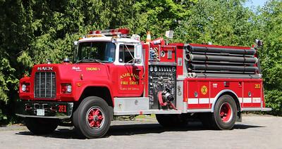 Engine 1.  1987 Mack R / Ranger.  1500 / 1000