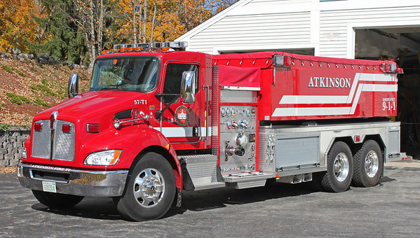 Tanker 1 2014 Kenworth / Fouts Brothers 1000/3000