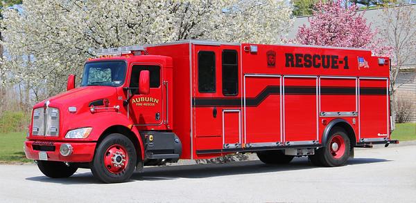 Rescue 1.  2019 Kenworth / Rosenbauer